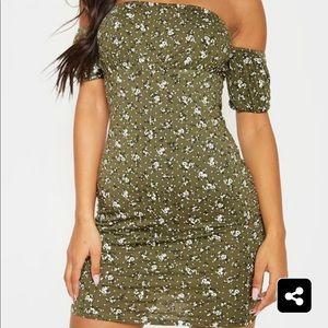Brand New Khaki dress 💚